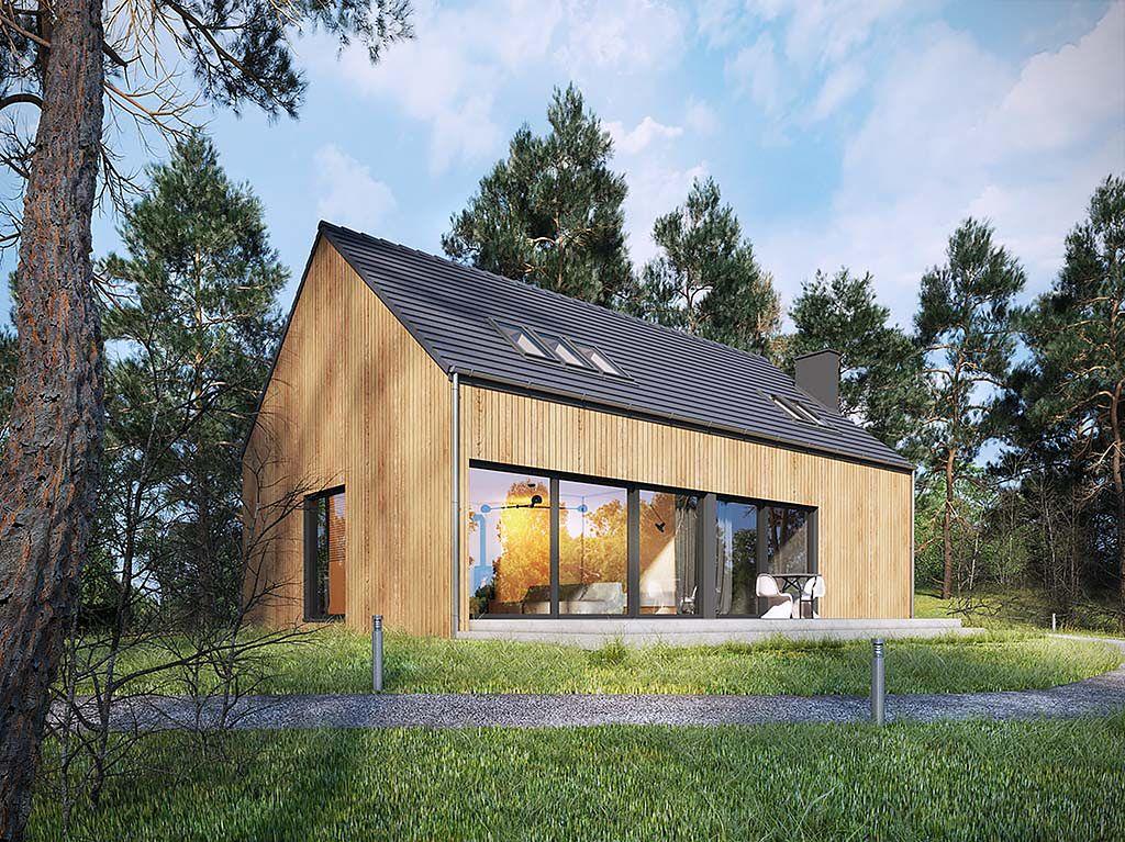 GORZÓW, nowy dom jednorodzinny 130 mkw, na przedmieściach